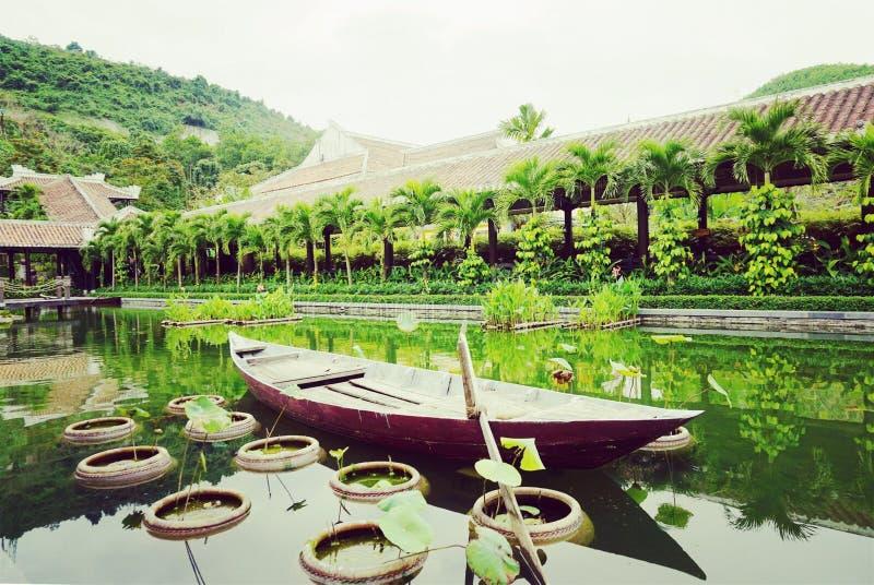 Um curso da viagem de Vietname a Vietname fotografia de stock royalty free