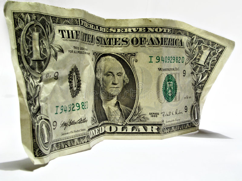 Um dólar americano foto de stock royalty free