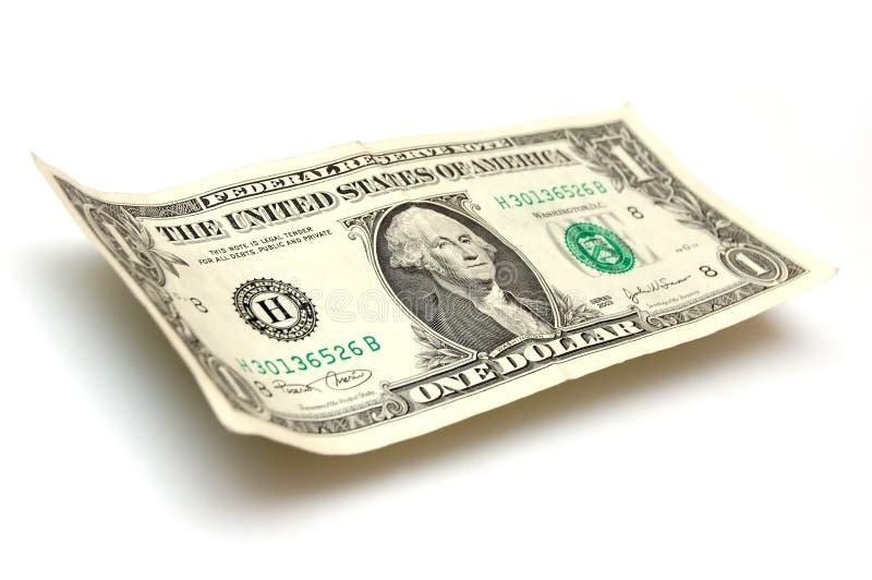 Um dólar Bill imagem de stock