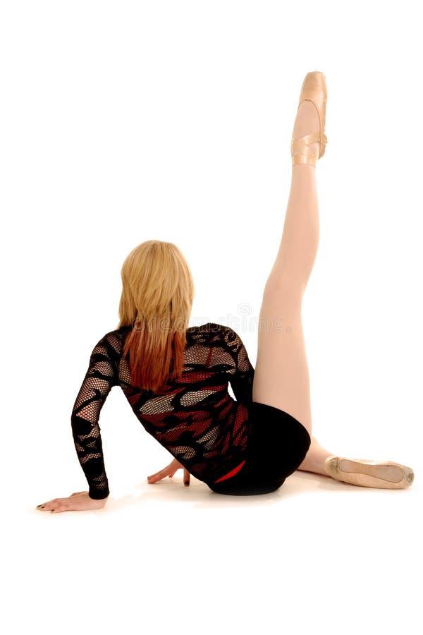 Um dançarino levanta fotografia de stock