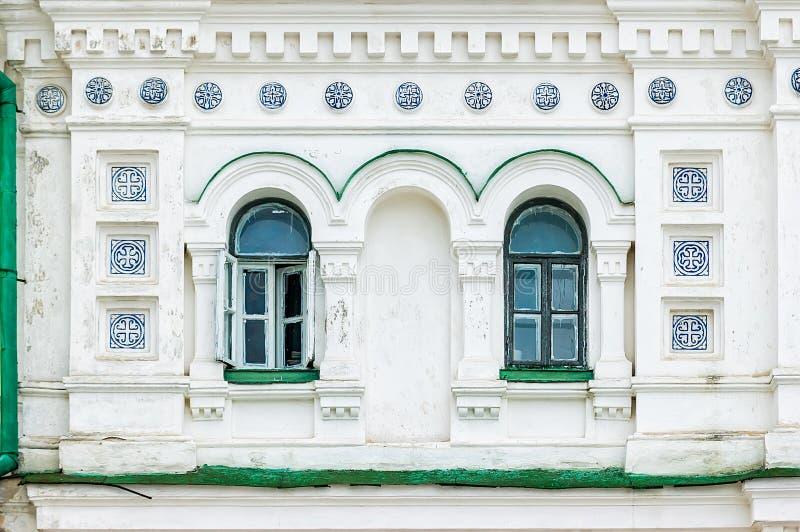 Download Detalhe Da Janela Do Monastério De Lavra Em Kiev Foto de Stock - Imagem de neve, ouro: 29841760