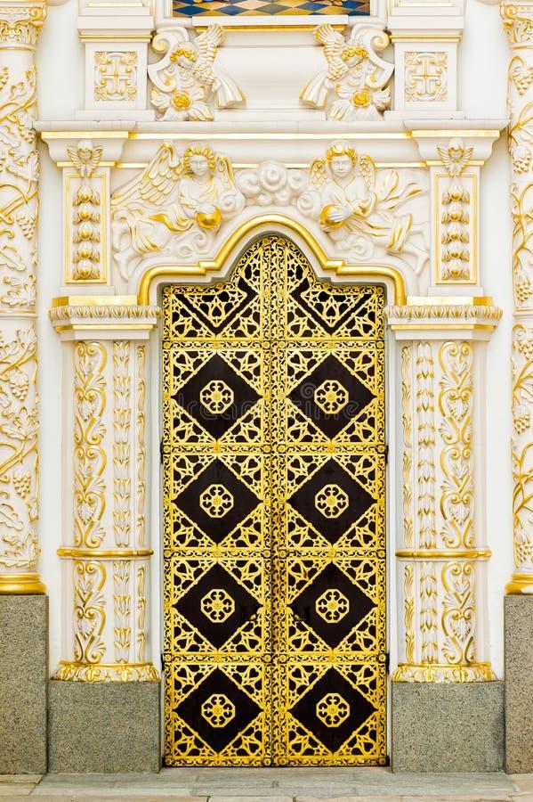 Download Detalhe Da Porta Do Monastério De Lavra Em Kiev Imagem de Stock - Imagem de jesus, monastery: 29841739