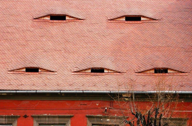 Um detalhe muito velho da casa, a Transilvânia foto de stock royalty free