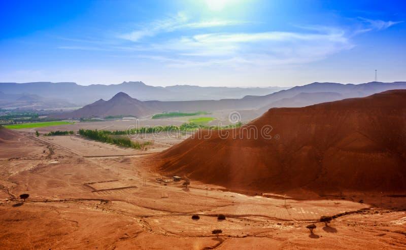 Um dia ensolarado em riyadh imagem de stock royalty free