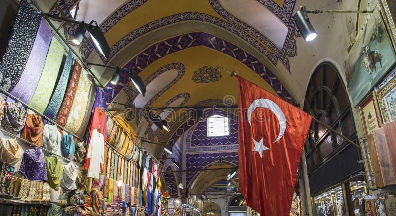 Um dia no bazar grande imagens de stock