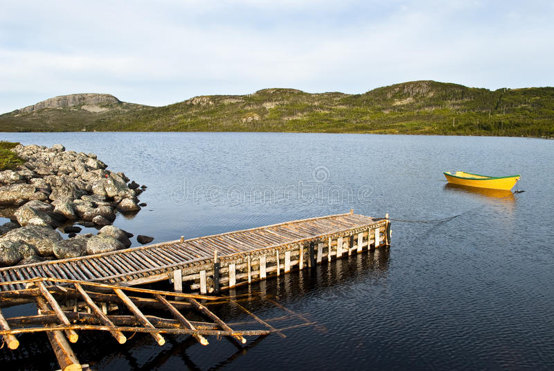 Um dia para a pesca fotografia de stock