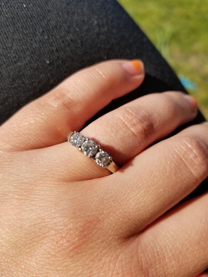 Um diamante é Forever fotos de stock royalty free