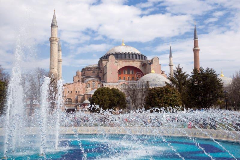 Haghia Sophia em Istambul Turquia foto de stock