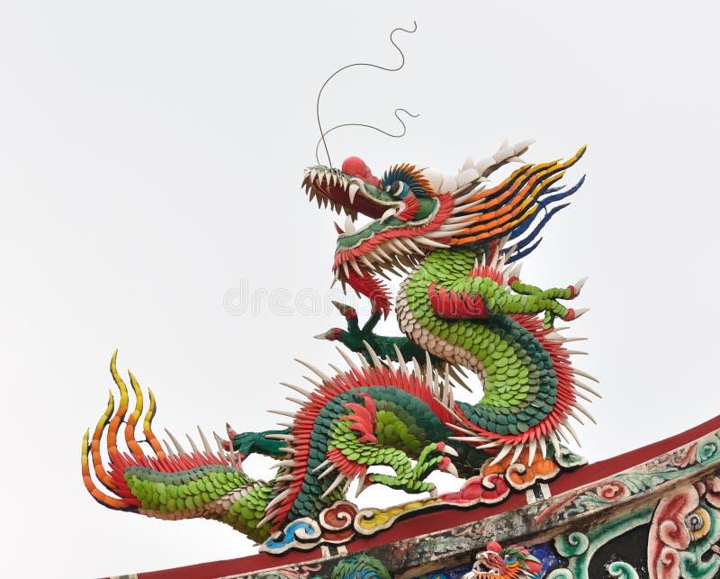 Um dragão chinês foto de stock