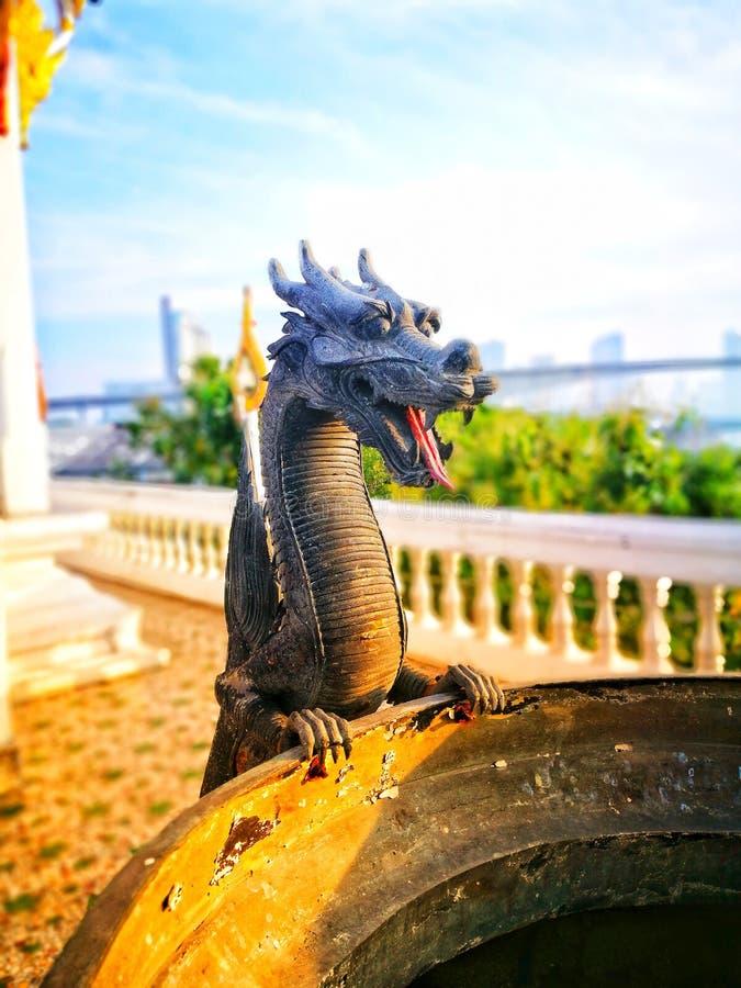 Um dragão pequeno fotografia de stock royalty free