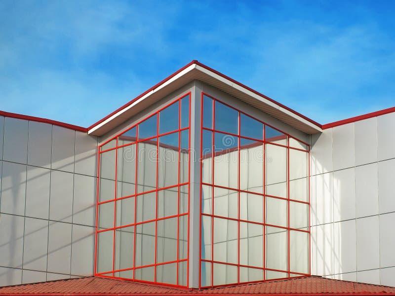 Um edifício moderno. foto de stock royalty free