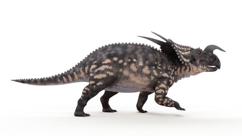 Um Einiosaurus ilustração do vetor