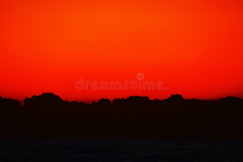 Um espetáculo fantástico o nascer do sol imagens de stock