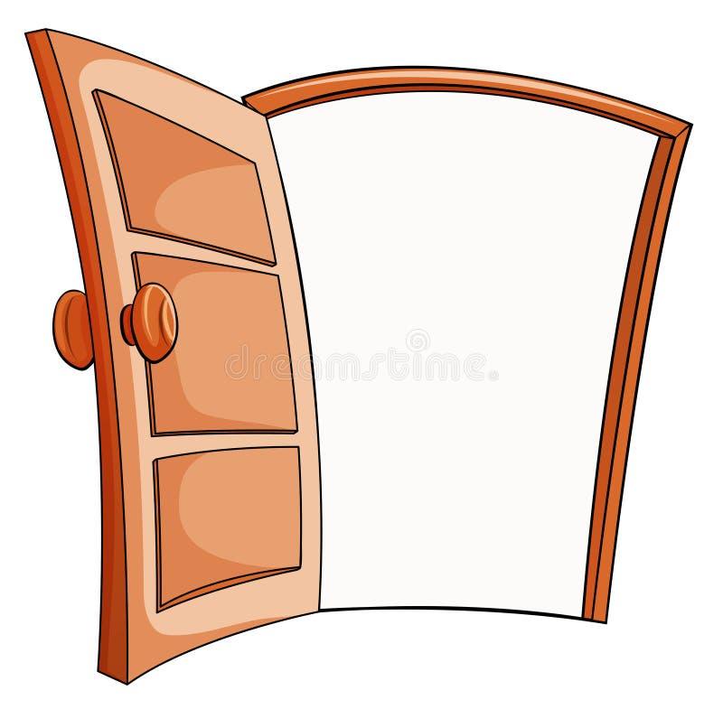 Um estar aberto ilustração stock