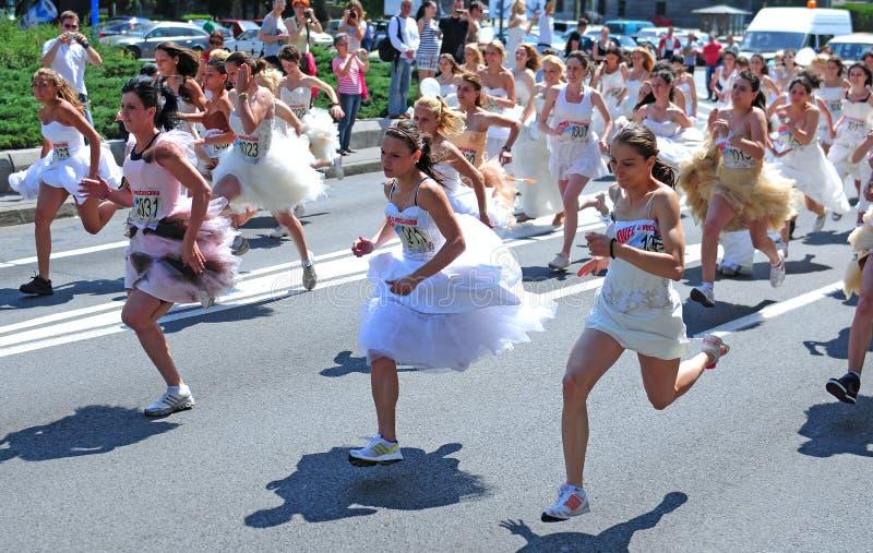 'Um evento da raça do casamento' foto de stock royalty free