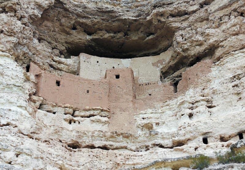 Um fim acima do monumento nacional do castelo de Montezuma imagem de stock