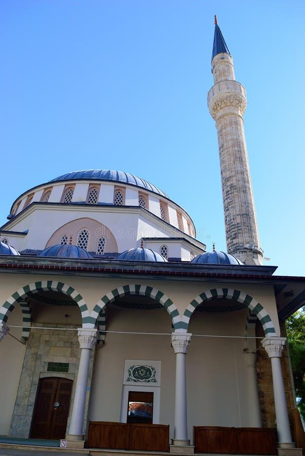 Um fragmento de um santuário islâmico em Turquia fotografia de stock royalty free