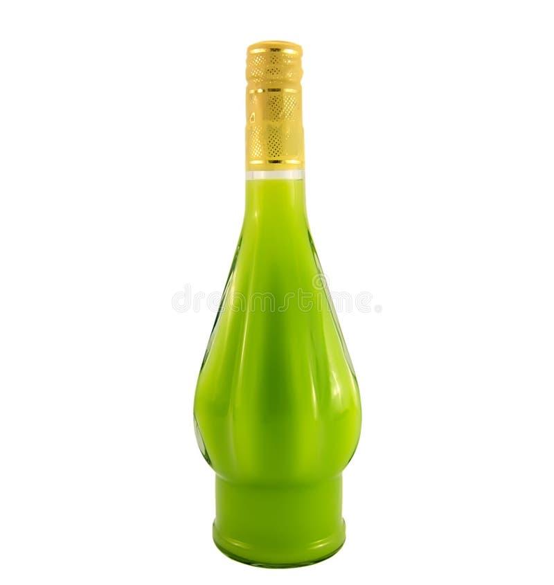 Um frasco do licor fotos de stock