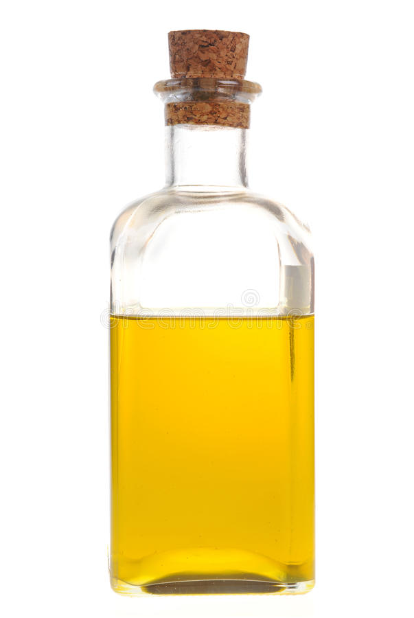 Um frasco do petróleo fotos de stock royalty free