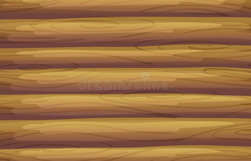 Um fundo de bambu ilustração do vetor