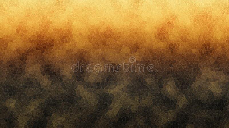 Um fundo morno, alaranjado com uma estrutura do pente do mel ilustração stock