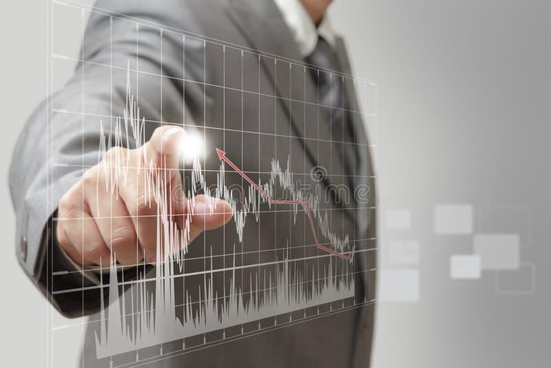 Download Um gráfico da mão do homem ilustração stock. Ilustração de indicação - 26519144
