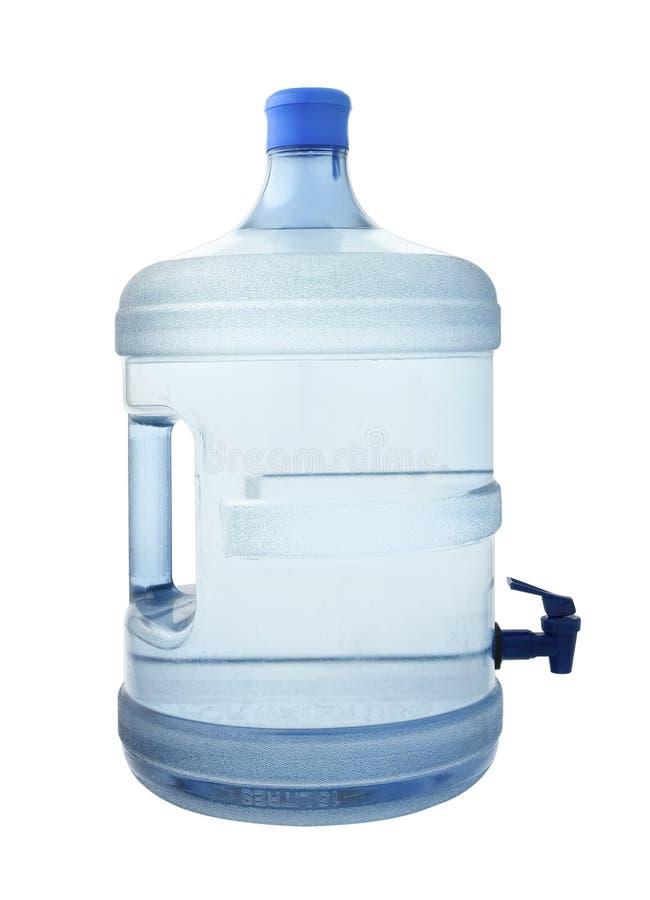 Um grande distribuidor da água bebendo fotografia de stock