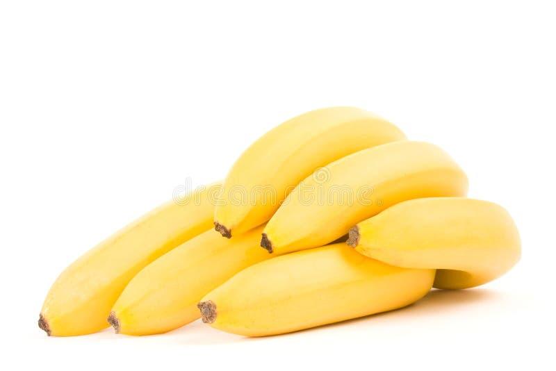 Um grupo das bananas fotos de stock royalty free