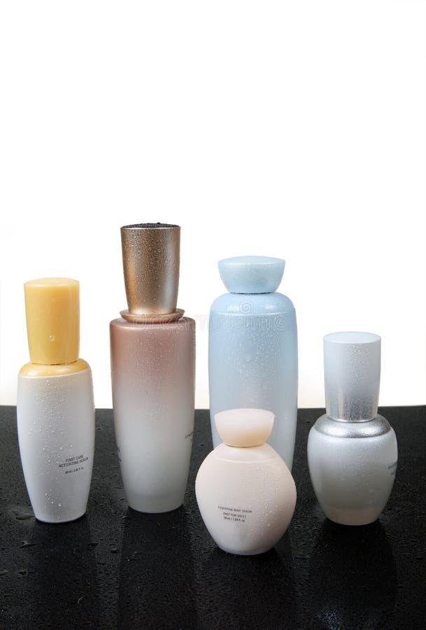 Produtos dos cuidados com a pele e de beleza