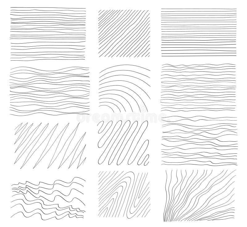 Download Um Grupo De Texturas Desenhados à Mão Elementos Do Projeto Do Vetor Ilustração do Vetor - Ilustração de desenhado, pintura: 65580137