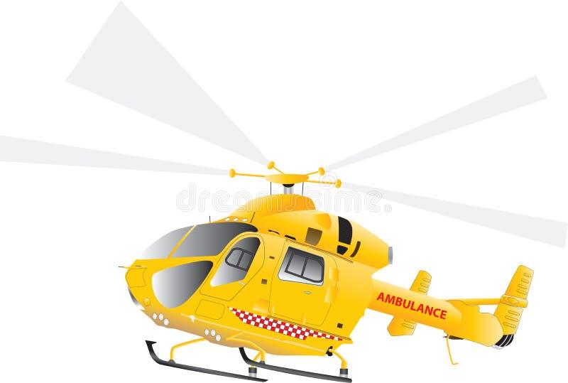 Ambulância de ar ilustração do vetor