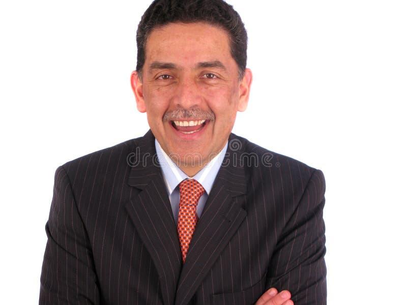 Um homem de vista amigável foto de stock royalty free