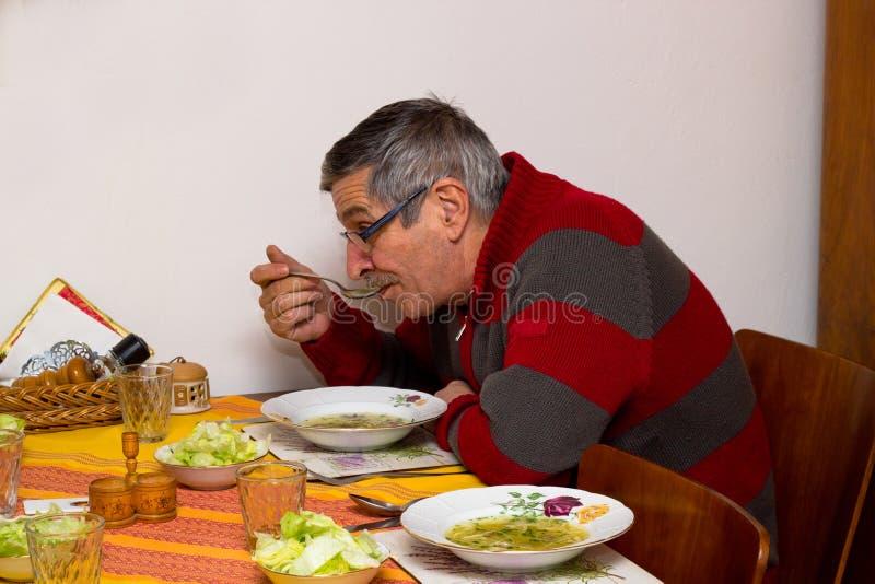Almoço em casa foto de stock royalty free
