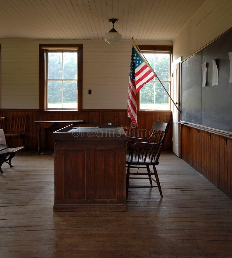 Um interior da casa da escola do quarto fotos de stock