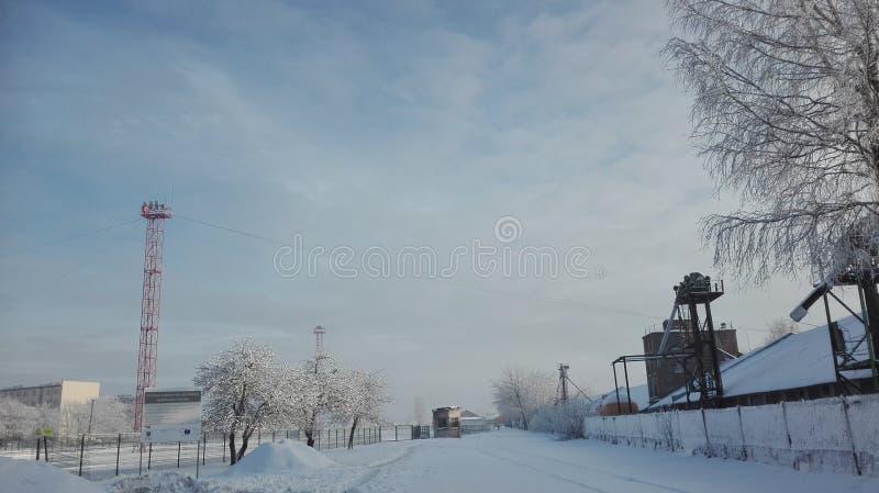 Um inverno é divertimento fotos de stock royalty free