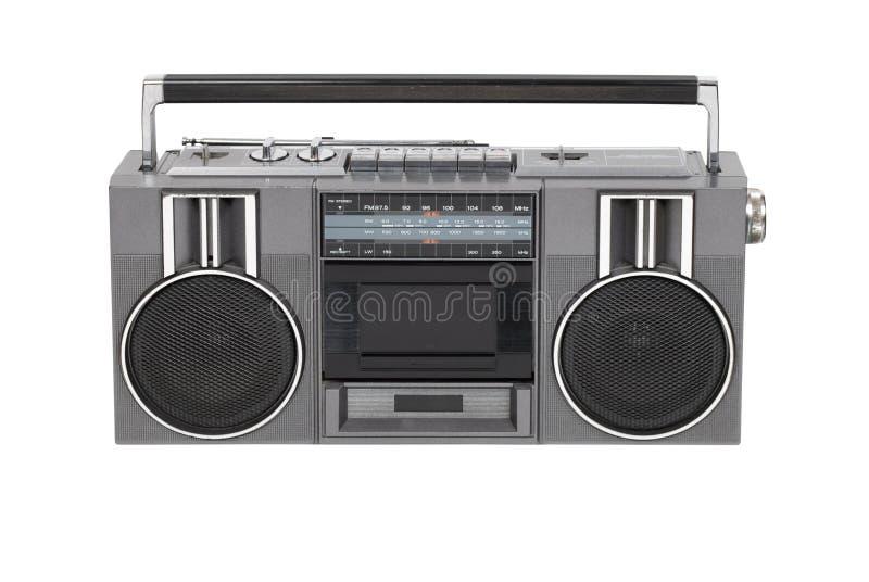 Jogador de gaveta de rádio imagens de stock royalty free