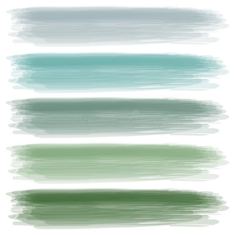 Um jogo das cores ilustração do vetor