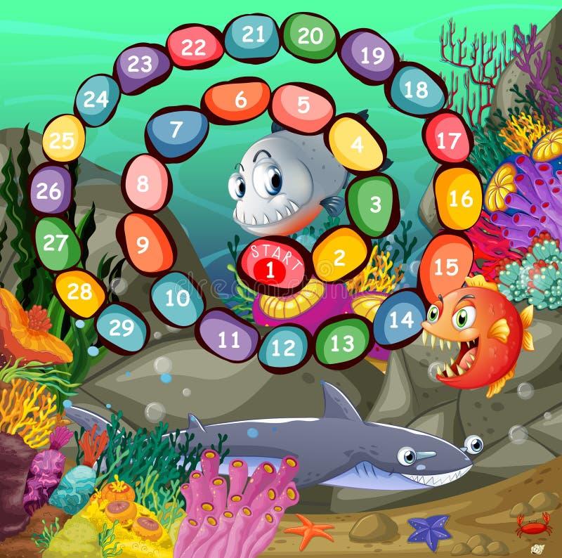 Um jogo de número ilustração royalty free