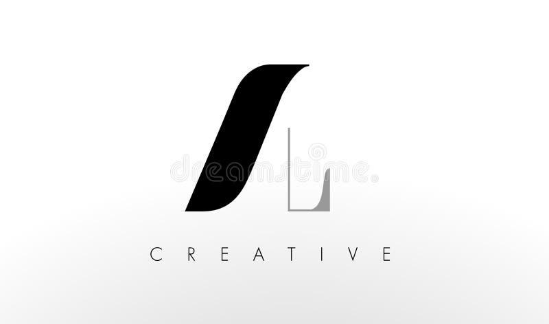 Um L letra Logo Design AL Letters Icon criativo ilustração do vetor