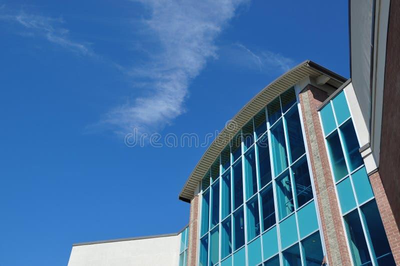 Um lado do edifício fotografia de stock royalty free