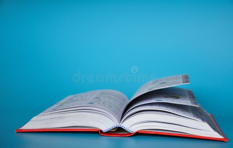 Um livro fotografia de stock royalty free