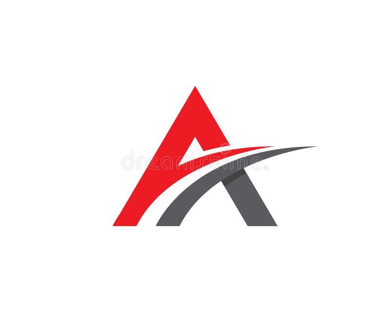 Um logotipo da letra ilustração do vetor