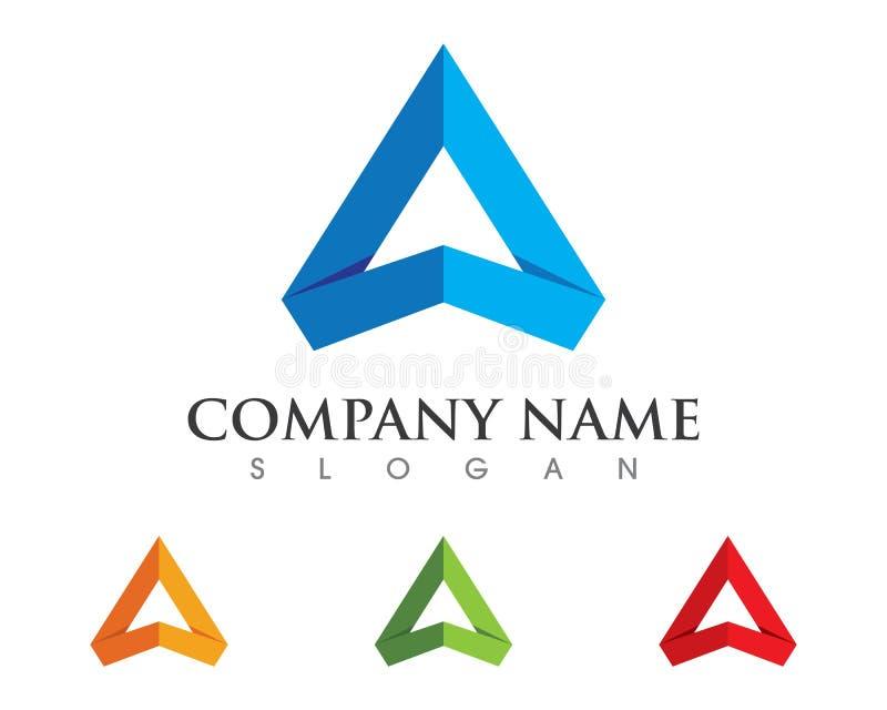 Um logotipo da letra ilustração royalty free
