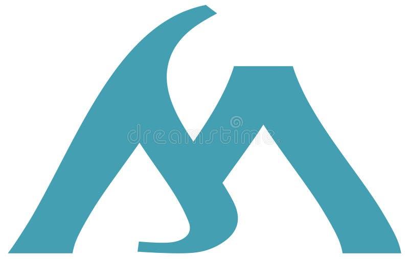 Um logotipo para sua companhia ilustração stock