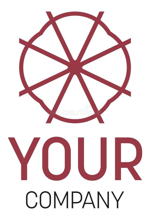 Um logotipo para sua companhia ilustração do vetor