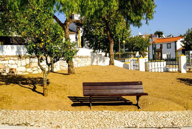 Um lugar quieto secreto na vila de Evoramonte foto de stock royalty free