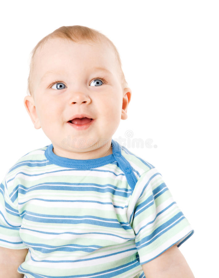 Um menino do ano fotografia de stock royalty free