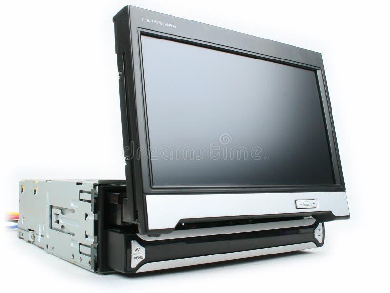 Um monitor do carro imagem de stock royalty free