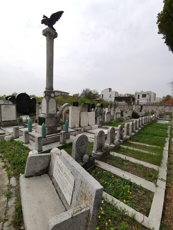 Um monumento dos soldados romenos judaicos ca?dos na primeira guerra mundial imagem de stock royalty free