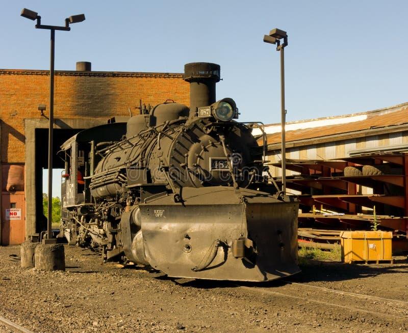 Um motor de vapor aposentado imagem de stock